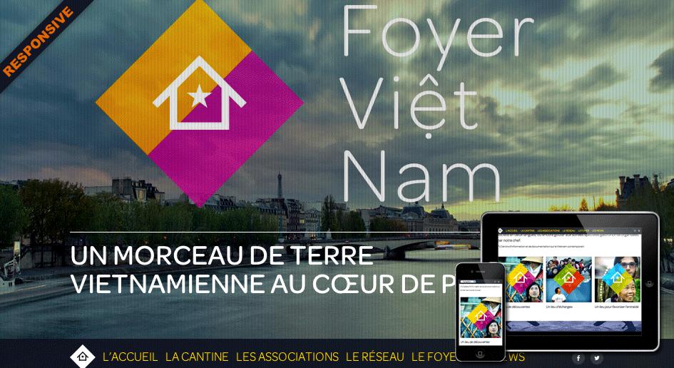 Développeur Drupal Freelance, réalisation : Foyer Vietnam